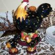 Rooster Cookie Jar and Rooster Salt & Pepper Set - SOLD!